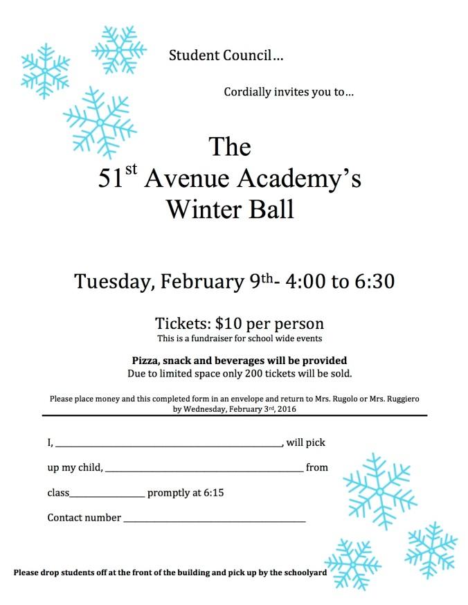 Winter Ball Registration