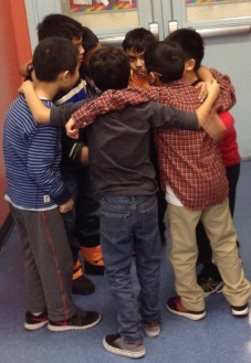 Group Huddle